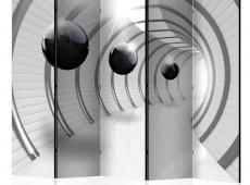 Paraván - Futuristic Tunnel II [Room Dividers]